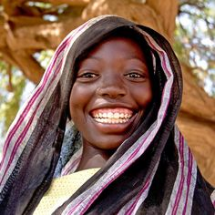 Smile for the start of a new week! Thanks to @unicef.chad for sharing.
