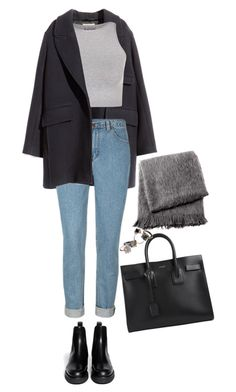 """14.12.15"" by ceren-gcr ❤ liked on Polyvore featuring From the Road, Yves Saint Laurent, H&M, Free People, Made Her Think and Marni"