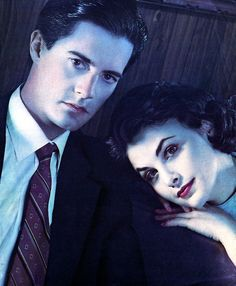 Iconic.  Cooper was great.  Now that I've seen Dark Shadows I understand Twin Peaks much better.