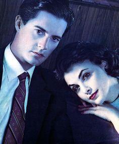Agent Cooper + Audrey Horne.