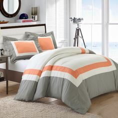 FREE SHIPPING! Shop Wayfair for Chic Home Normandy 3 Piece Duvet Cover Set - Great Deals on all Bed & Bath products with the best selection to choose from!