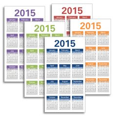 My Life All in One Place: 2015 dated Midori inserts to download and print