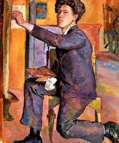 """Alberto Giacometti - """"Self-Portrait"""" 1921"""