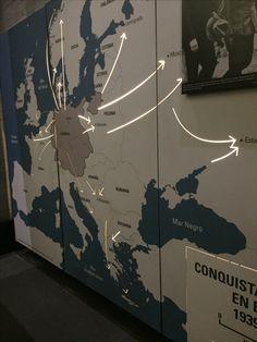 Expansión de la conquista de territorio por parte del partido nazi