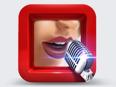 Vocalist icon #appicons #mobileappicons #iosaappicons #iosicons