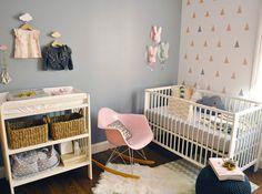 chambre bébé pastel