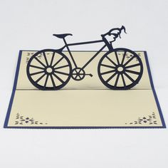 Pop-up new bike card for man / Sport pop-up card/FS050-Bike for man/Friendship card/ Birthday card for him/3D bicycle card/ supplier 3d card vietnam