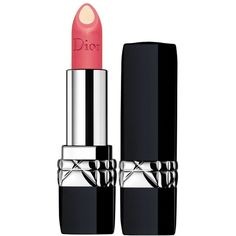 DIOR Rouge Dior Double Rouge Matte Metal Colour Couture Contour... (€31) ❤ liked on Polyvore featuring beauty products, makeup, lip makeup and lipstick