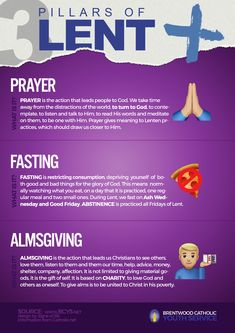 Pray, Fast, Give – Lent Campaign - Brentwood Catholic Youth Service