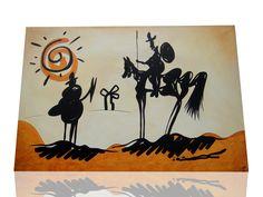 """Quijote"" Pintura moderna"