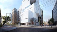 F-Town Building – 3D Mimari Görselleştirme