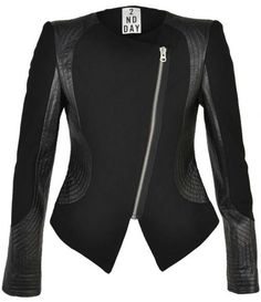 A seriously beautiful, edgy jacket!