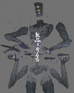 ArtStation - The Titan of Infinite sword, Ching Yeh