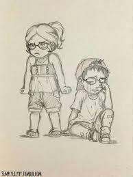 -¿TU ERES UNO DE ELLOS?-dijo enojada la niñita quien acompañaba a nino-¿TU ERES EL QUIEN A ECHO ESTO A NINO?