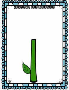 Box Patterns, Spring Activities, Montessori, Bar Chart, Symbols, Letters, Bar Graphs, Letter, Lettering