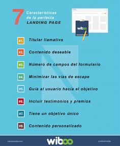 Características de la perfecta landing page