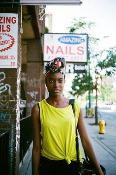 "torontostreetfashion: "" © Toronto Street Fashion Zanana from Elite Models (plz do NOT remove source, thx) "" Urban Fashion, Daily Fashion, Street Fashion, Leica, Elite Model, Ethno Style, Turban Style, Urban Street Style, Toronto Street"