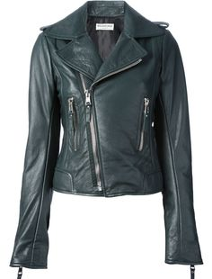 2f1123a97e0 Revamp your look with the edgy women s designer motorcycle jackets edit at  Farfetch now. Find leather biker jackets from world-renowned labels.
