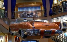 Rotating 1957 Cadillac