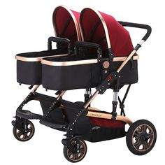 This Stroller is an awesome stroller with great quality rides, great space for both baby's comfort. It boasts of a lightweight, full-featured inline design #pramstroller
