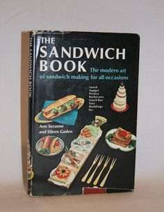 The Sandwich Book Cookbook | Vintage Duds and Decor