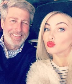 Julianne Hough & her Dad Bruce