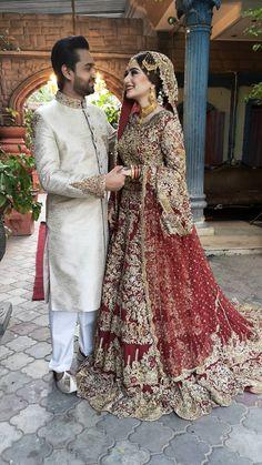 Pakistani Dresses Party, Pakistani Wedding Outfits, Indian Gowns Dresses, Pakistani Wedding Dresses, Couple Wedding Dress, Desi Wedding Dresses, Wedding Pics, Latest Bridal Dresses, Boyfriends