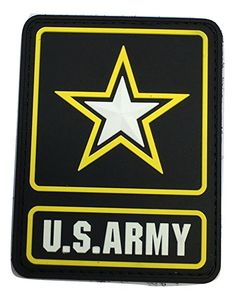 COLOR US ARMY LOGO PVC PATCH ceaf1ee555f