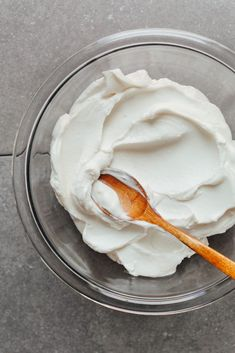 Easy, vegan, and gluten-free coconut yogurt with just 2 ingredients and 1 bowl! Thick, rich, tangy, creamy, and perfect for snacking!