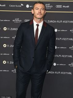All aboard: Luke Evans, shown last month in Switzerland, has joined the cast of The Girl On The Train