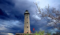 Gytheio Lighthouse, Greece- by Stathis Stathakis Just Like Heaven, Lighthouse Art, Beacon Of Light, Maritime Museum, Pictures To Paint, Places Ive Been, In The Heights, Nautical, Around The Worlds