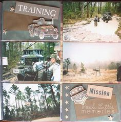 Military Scrapbooking by Posh Little Memories #military #army #armywife #scrapbooking #militaryscrapbooking #memorykeeping #traditionalscrapbooking