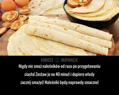 Polish Recipes, Good To Know, Health And Beauty, Pancakes, Baking, Ethnic Recipes, Mille Crepe, Crepes, Food