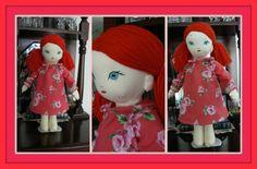 Vintage inspired doll