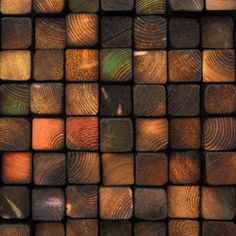 Colored and Burnt Wooden Wall Sculpture - Framed Smoke Damaged - Blackened Earth Tones. $165.00, via Etsy.