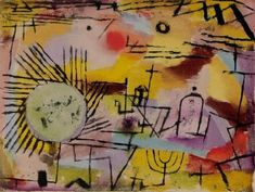 Abstractism     PAUL KLEE 'rising sun'                                                                                                                                                                                 More