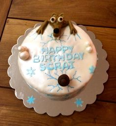 ice age cake on pinterest cake topper tutorial cakes and ice. Black Bedroom Furniture Sets. Home Design Ideas