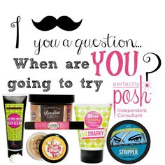 All natural! All Vegan!! All amazing for your skin!! Are YOU going to TRY POSH today?! www.perfectlyposh.com/redbeautyposh If you try and enjoy, JOIN my team today!