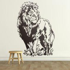 León - VINILOS DECORATIVOS #leon #vinilodecorativo #decoracion #teleadhesivo