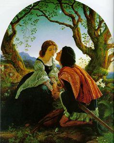 Hesperus  by Joseph Noel Paton (ARC)