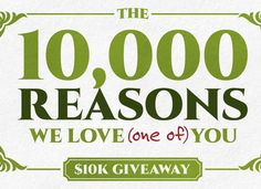 Win a $10,000 check. Just enter your details on the form and you have a reason you might win.