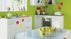 Original Colors for your Kitchen Backsplash