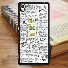 All Time Low Art Music Qoutes Lyric Sony Experia Z4 Case