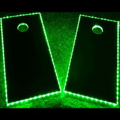 Cornhole is a great game for parties, family gatherings, and other events. Don't stop playing just because the sun went down! This single cornhole LED lighting kit from GlowCity can help. Birthday Games For Adults, Adult Party Games, Adult Games, Diy Yard Games, Diy Games, Backyard Games, Backyard Playground, Backyard Ideas, Lawn Games