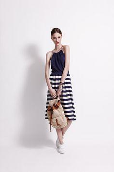 Menton Dress - Sailor - 100% Linen @Banjo & Matilda perfect summer dress.