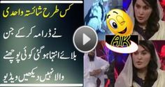 shaista wahid in morning shows