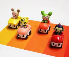 Adorable sums up Tokidoki! Foodies and sushi fans are you prepared for the all new series from Tokidoki. VROOOMVROOOM here comesTokidokiSushi Cars mini-series. All your favourite Tokidoki charactersin Sushi Cars, eat that Fast and Furious. Cool concept and adorable as ever. Virtually carb free sadly inedible momma said we can play with food just this one time.   Tokidoki did announce SushiCars will be releasedFebruary17th, 2017 athttp://www.tokidoki.it/  http:/&#x...