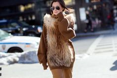 Day 2 via @WhoWhatWear hi every one I'm a Ewok! Rub my tummy! ha ha ha =)
