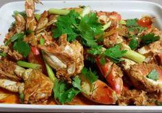 Ginger and Scallion Dungeness Crab - Vietnamese twist on the ginger and scallion crab you get at Chinese restaurants.