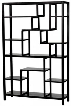 Absolutely love the design of this display shelf!  Very modern and interesting to look at!